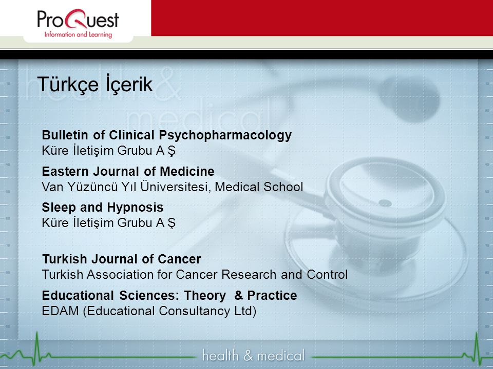 Türkçe İçerik Bulletin of Clinical Psychopharmacology