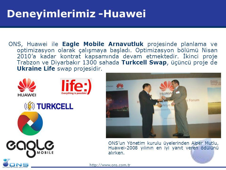 Deneyimlerimiz -Huawei