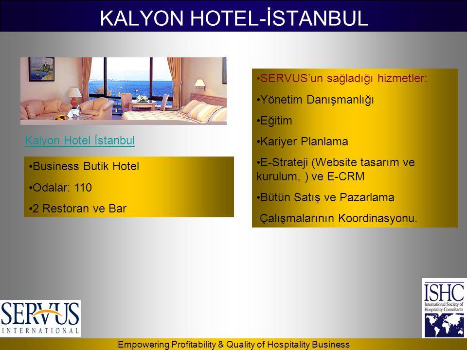 KALYON HOTEL-İSTANBUL