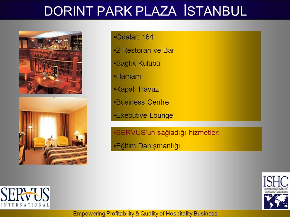 DORINT PARK PLAZA İSTANBUL