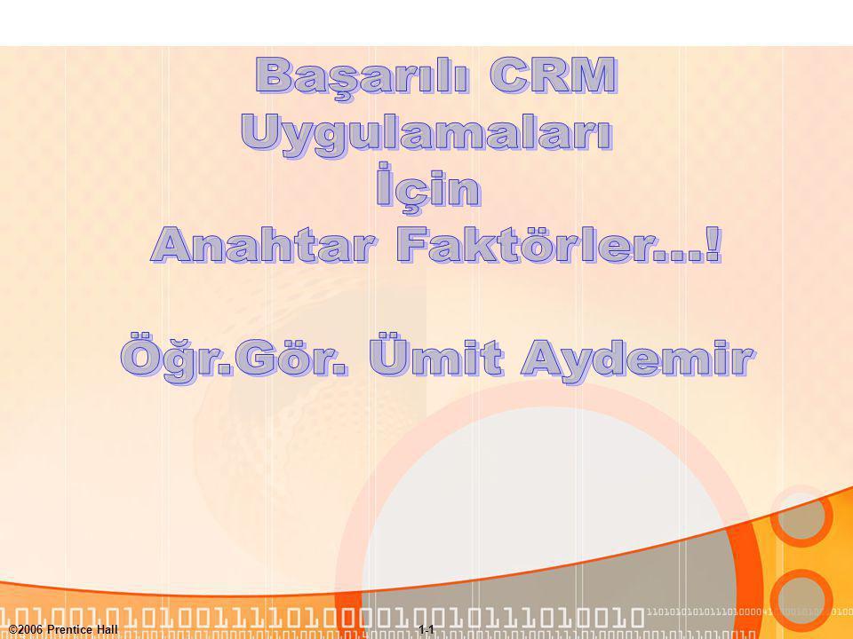 Başarılı CRM Uygulamaları İçin Anahtar Faktörler...!