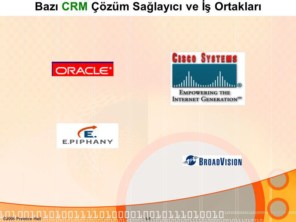 Bazı CRM Çözüm Sağlayıcı ve İş Ortakları