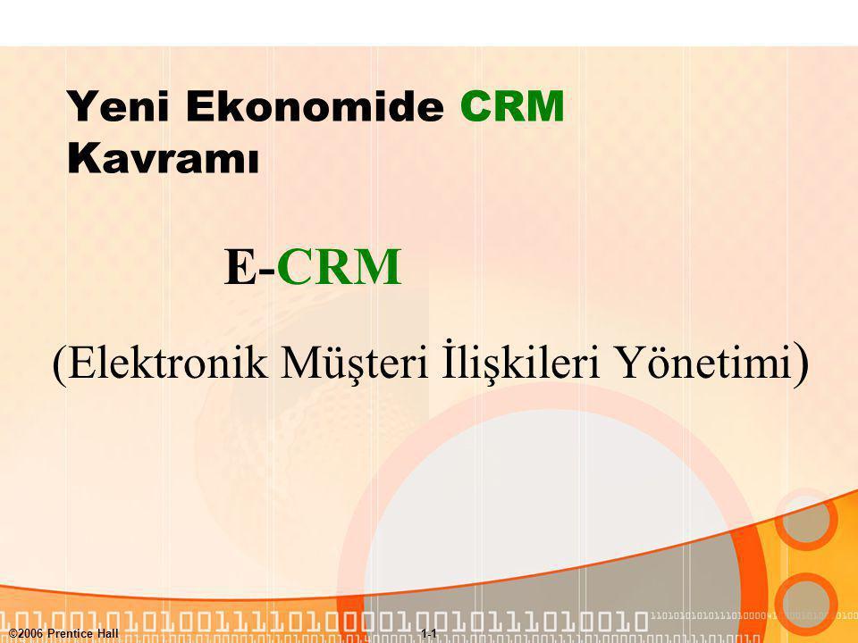 Yeni Ekonomide CRM Kavramı