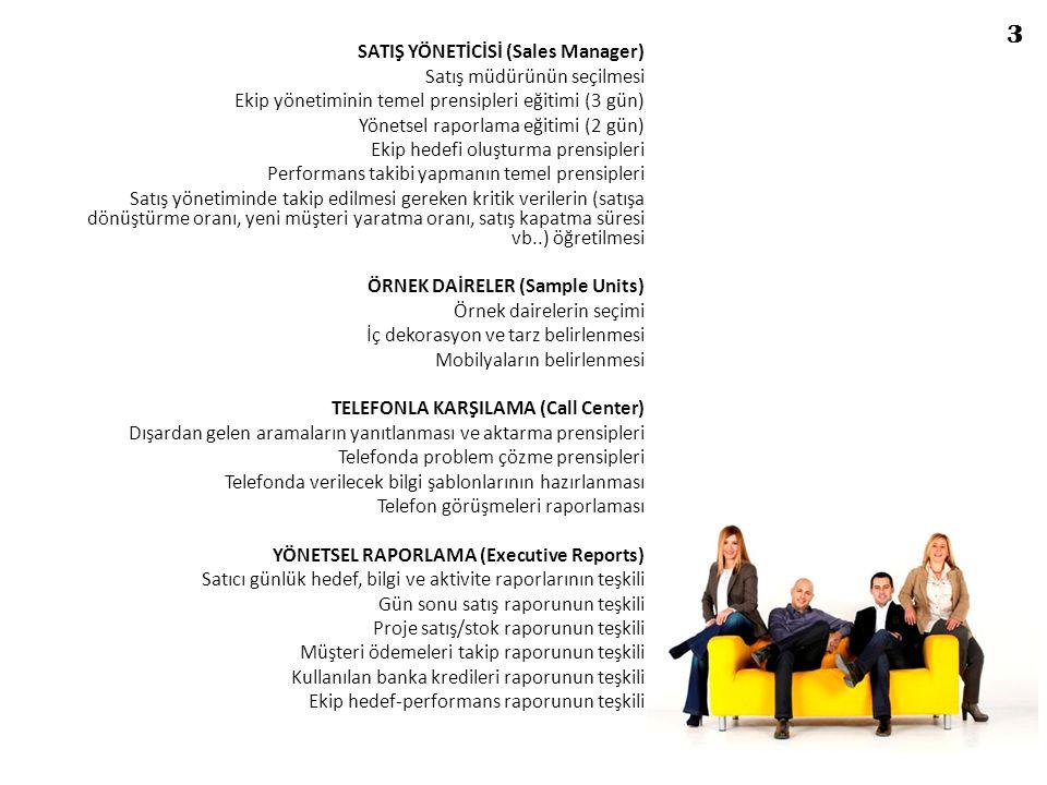 3 SATIŞ YÖNETİCİSİ (Sales Manager) Satış müdürünün seçilmesi
