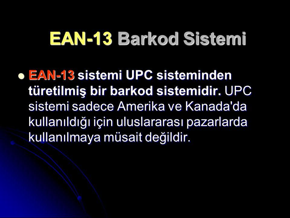 EAN-13 Barkod Sistemi