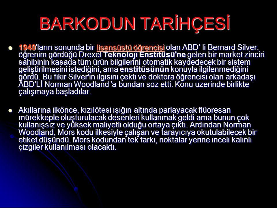 BARKODUN TARİHÇESİ