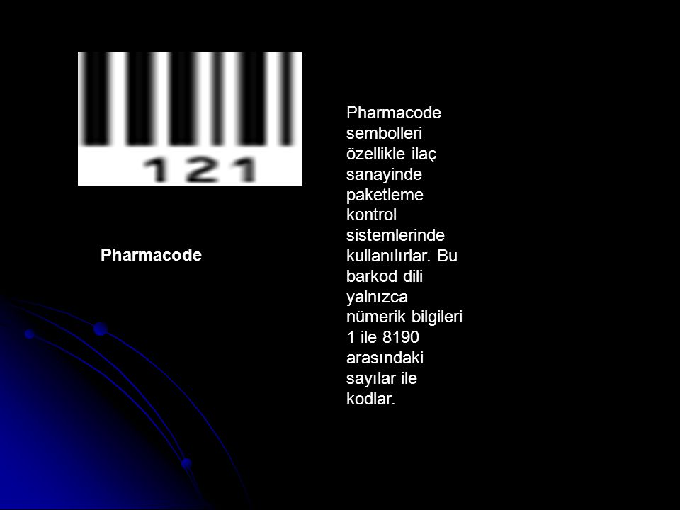 Pharmacode