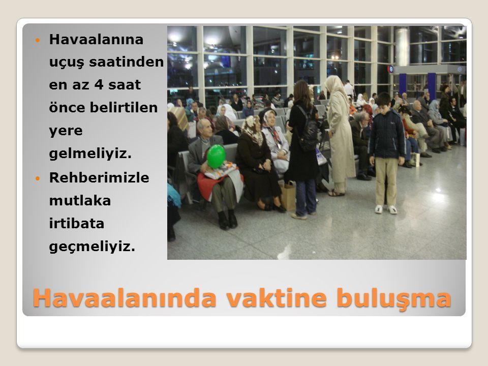 Havaalanında vaktine buluşma