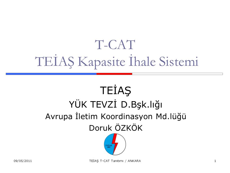 T-CAT TEİAŞ Kapasite İhale Sistemi