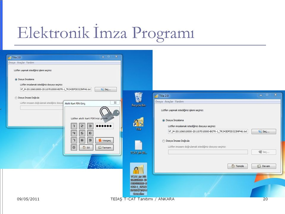 Elektronik İmza Programı