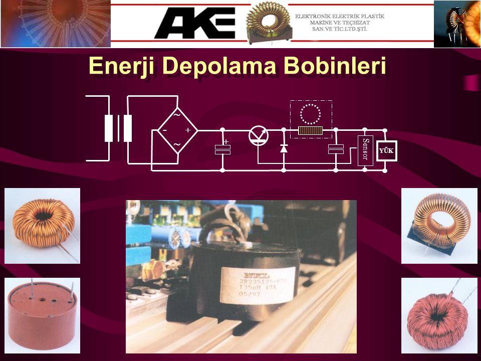 Enerji Depolama Bobinleri
