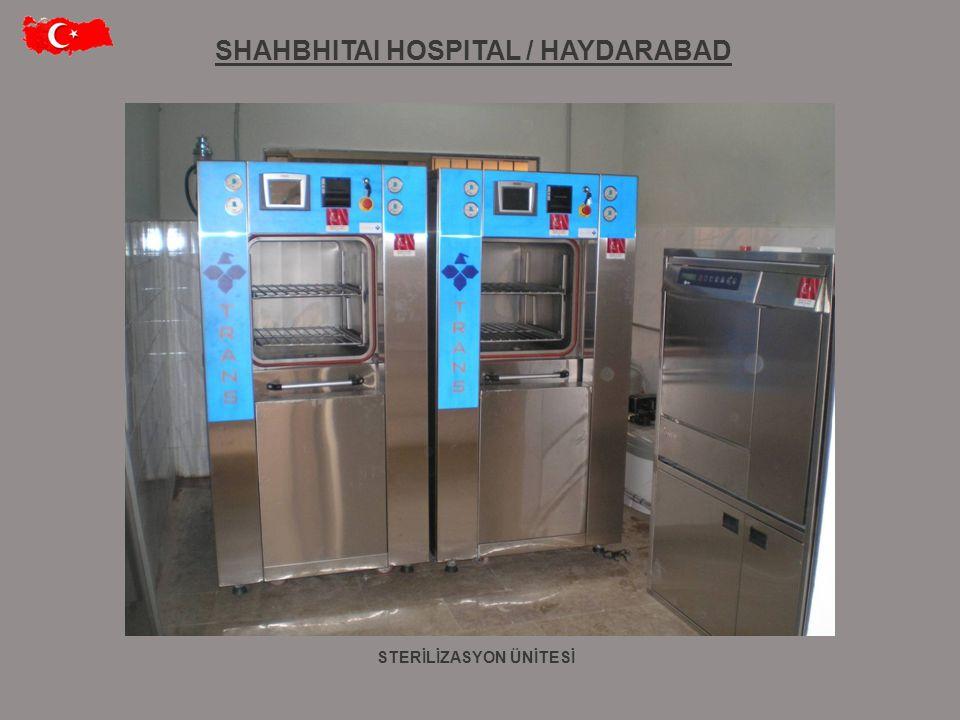 SHAHBHITAI HOSPITAL / HAYDARABAD STERİLİZASYON ÜNİTESİ