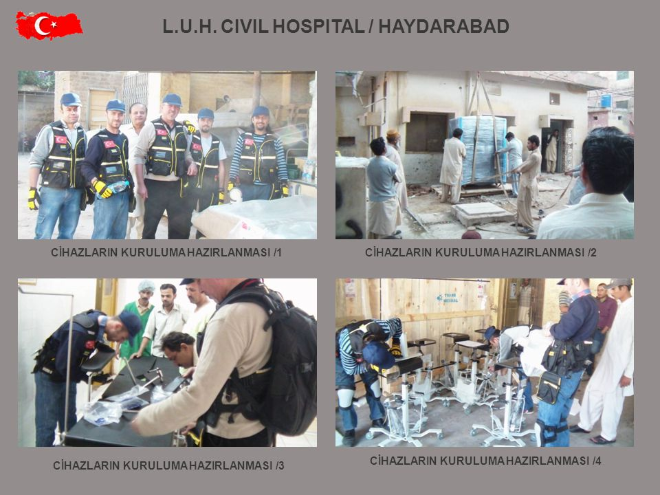 L.U.H. CIVIL HOSPITAL / HAYDARABAD