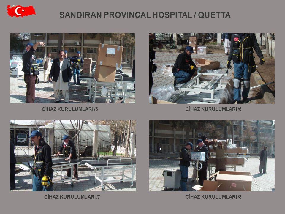 SANDIRAN PROVINCAL HOSPITAL / QUETTA