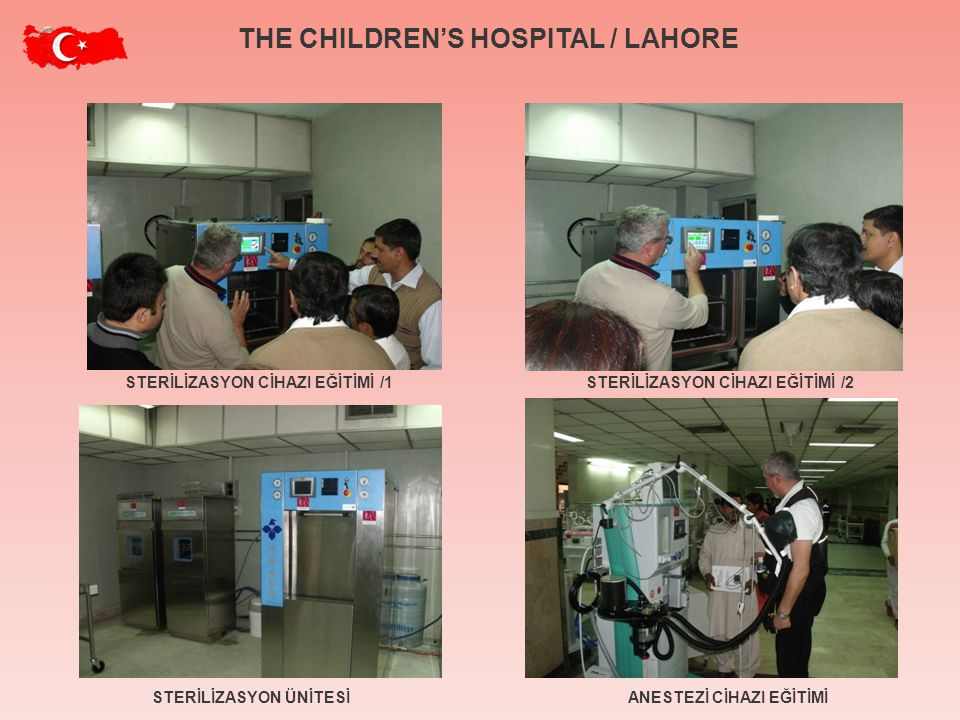 THE CHILDREN'S HOSPITAL / LAHORE