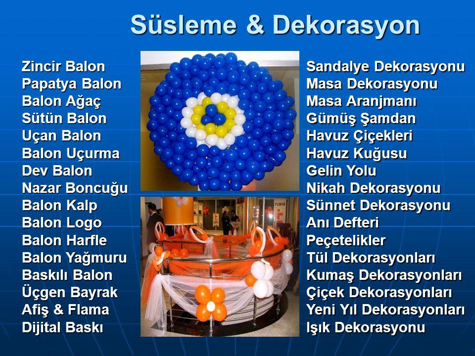 Süsleme & Dekorasyon Zincir Balon Papatya Balon Balon Ağaç Sütün Balon