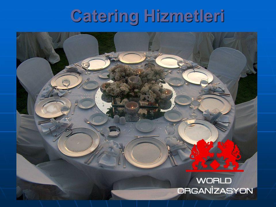 Catering Hizmetleri WORLD ORGANİZASYON 0 532 665 58 57