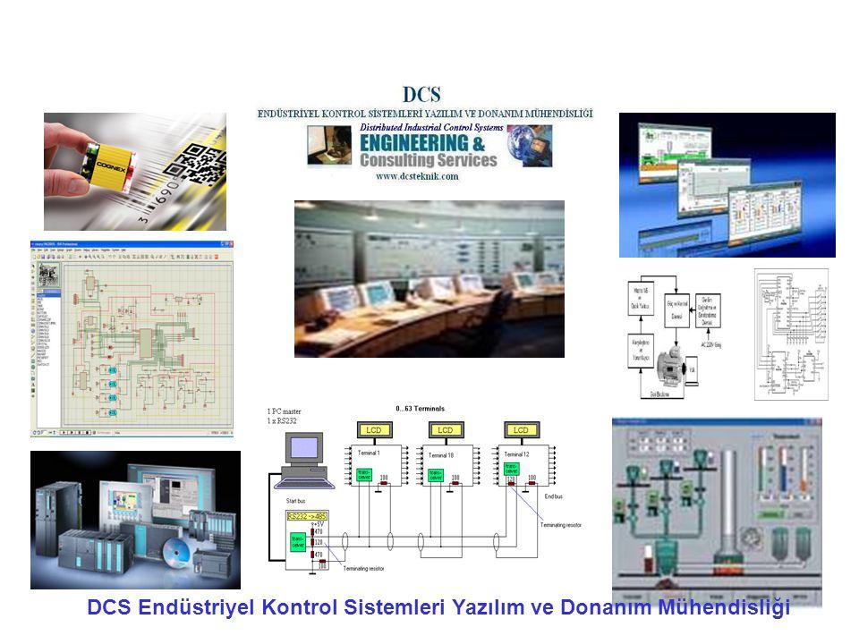 DCS Endüstriyel Kontrol Sistemleri Yazılım ve Donanım Mühendisliği
