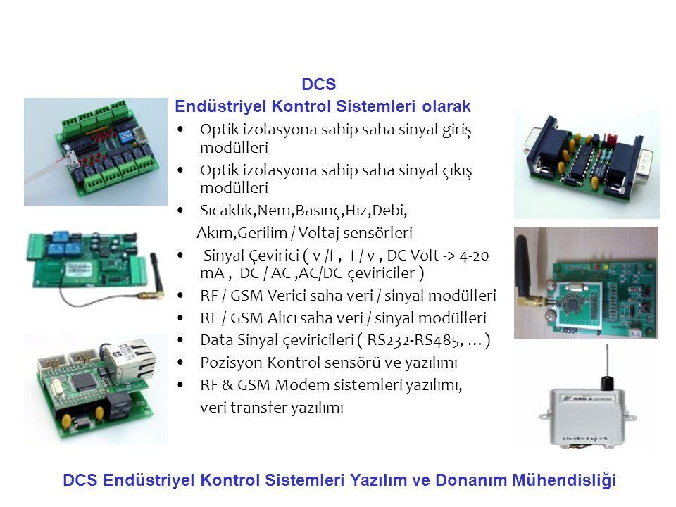DCS Endüstriyel Kontrol Sistemleri olarak. Optik izolasyona sahip saha sinyal giriş modülleri. Optik izolasyona sahip saha sinyal çıkış modülleri.