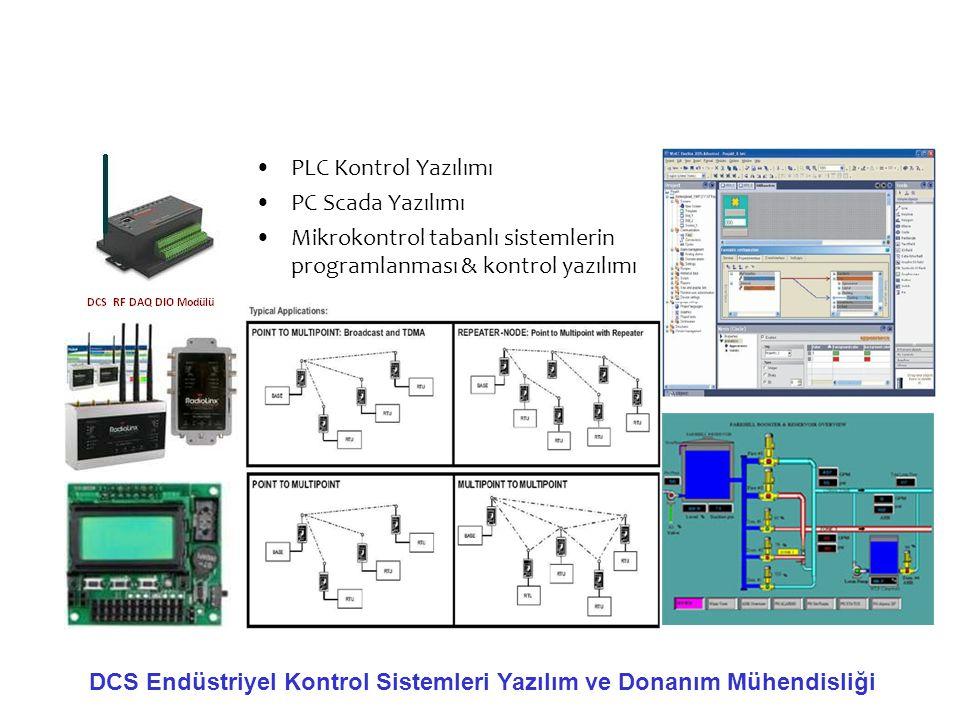 PLC Kontrol Yazılımı PC Scada Yazılımı. Mikrokontrol tabanlı sistemlerin programlanması & kontrol yazılımı.