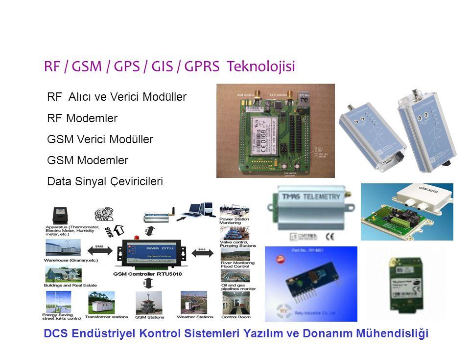 RF / GSM / GPS / GIS / GPRS Teknolojisi