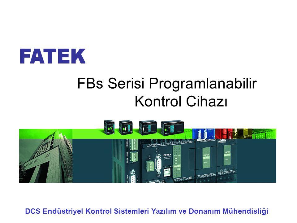 FBs Serisi Programlanabilir Kontrol Cihazı