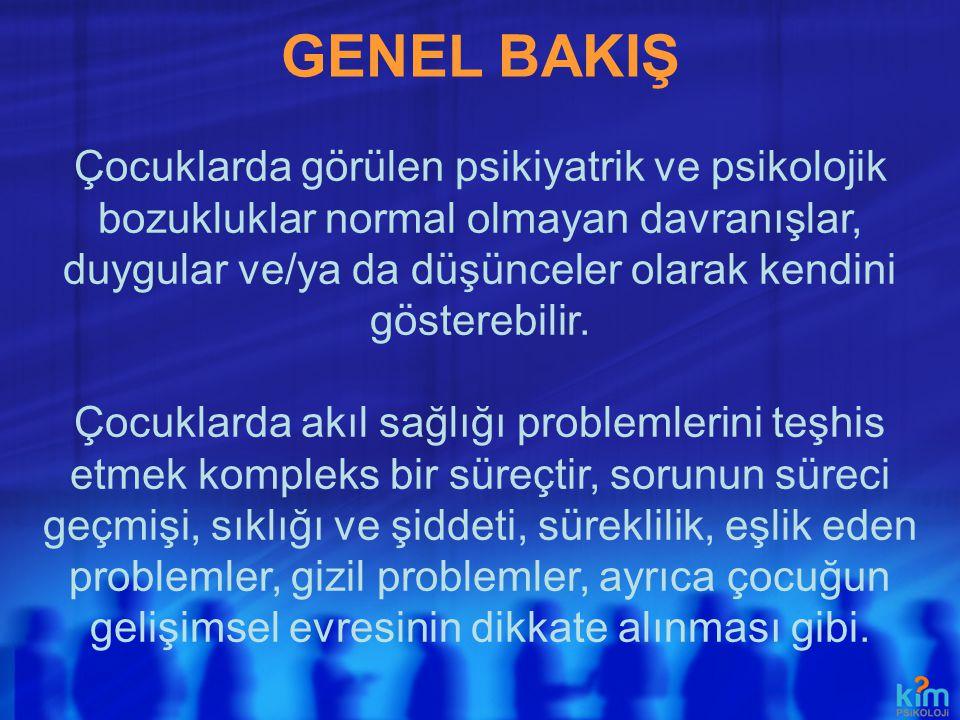 GENEL BAKIŞ