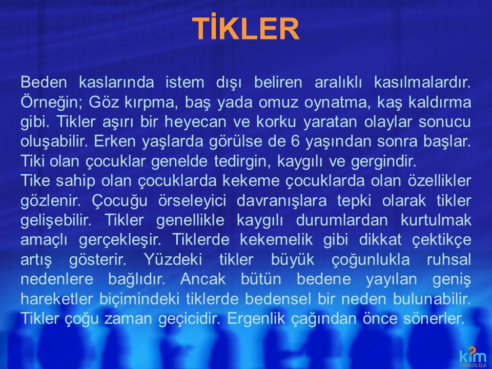 TİKLER