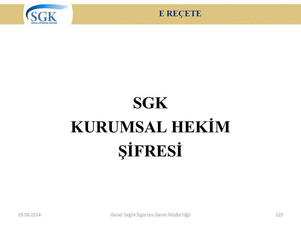 SGK KURUMSAL HEKİM ŞİFRESİ