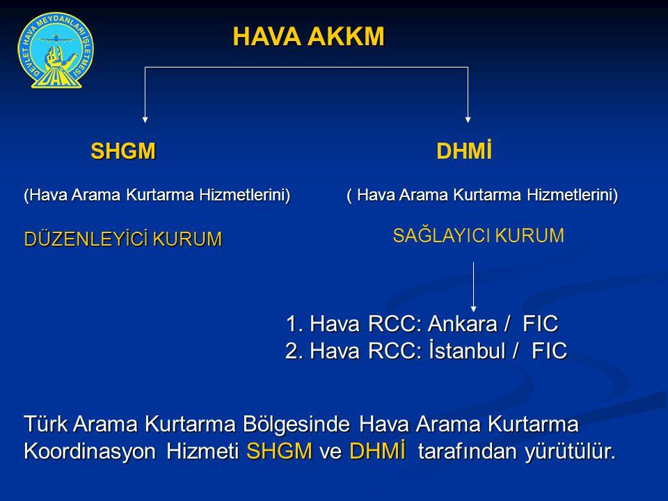2. Hava RCC: İstanbul / FIC