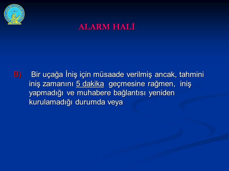 ALARM HALİ
