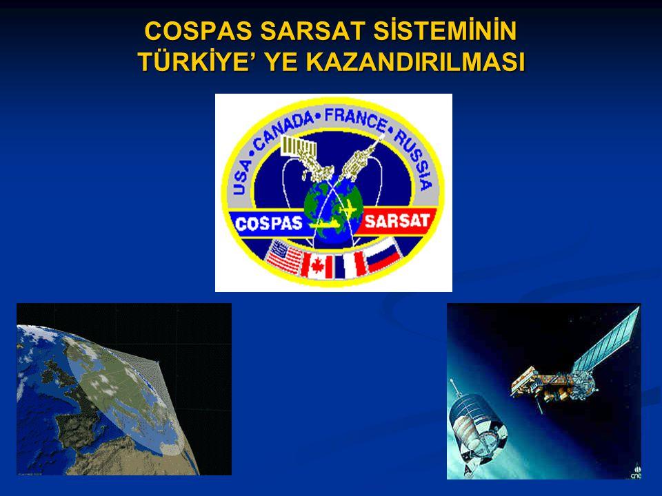 COSPAS SARSAT SİSTEMİNİN TÜRKİYE' YE KAZANDIRILMASI