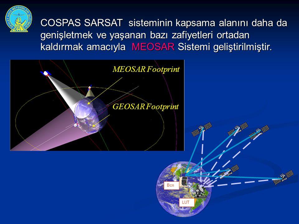 COSPAS SARSAT sisteminin kapsama alanını daha da genişletmek ve yaşanan bazı zafiyetleri ortadan kaldırmak amacıyla MEOSAR Sistemi geliştirilmiştir.