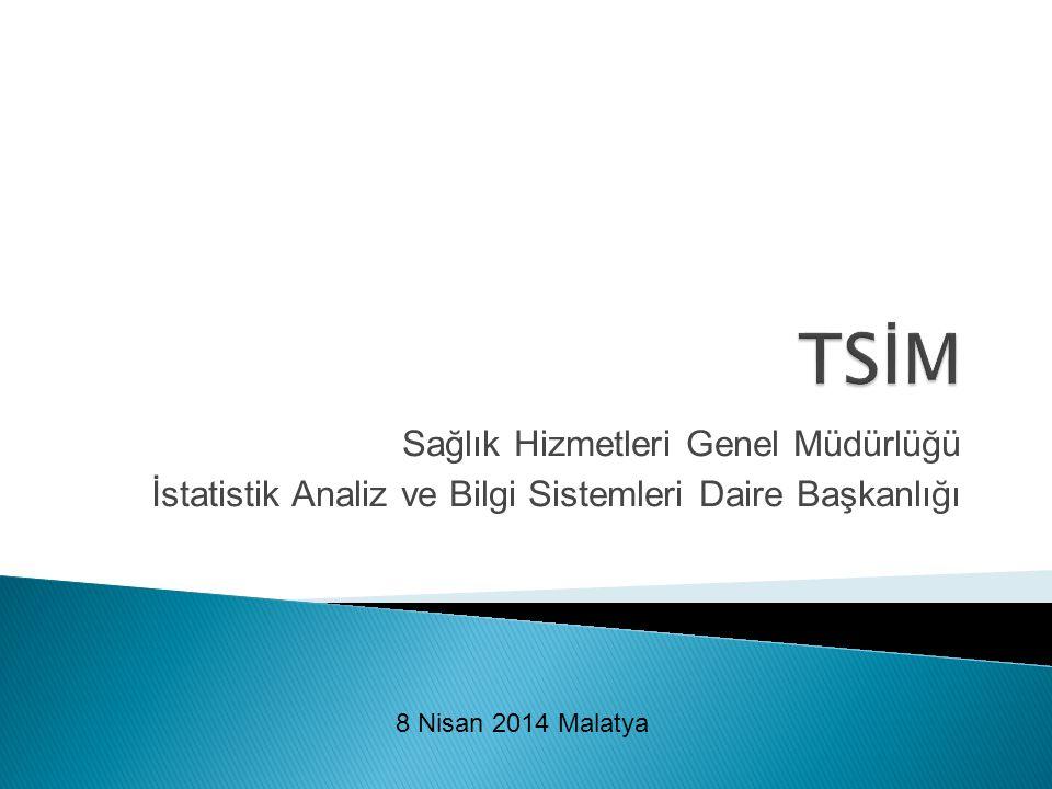 TSİM Sağlık Hizmetleri Genel Müdürlüğü