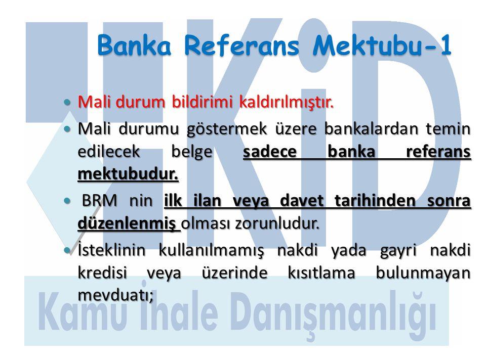 Banka Referans Mektubu-1