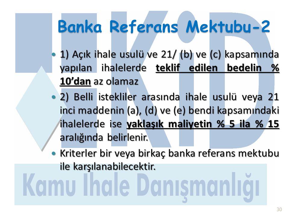 Banka Referans Mektubu-2