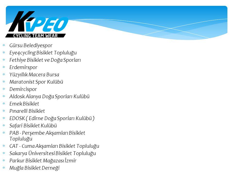 Gürsu Belediyespor Eye4cycling Bisiklet Topluluğu. Fethiye Bisiklet ve Doğa Sporları. Erdemirspor.