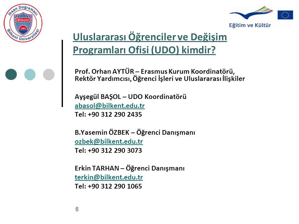 Uluslararası Öğrenciler ve Değişim Programları Ofisi (UDO) kimdir