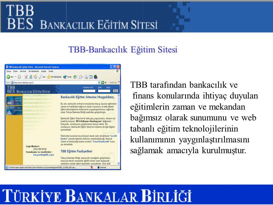 TBB-Bankacılık Eğitim Sitesi