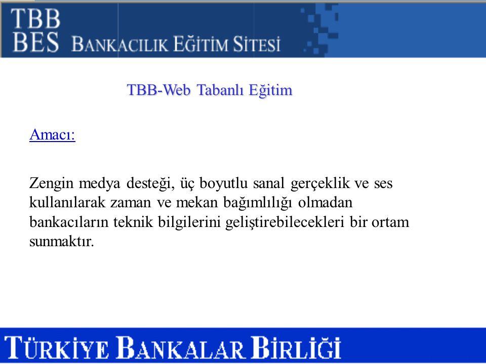 TBB-Web Tabanlı Eğitim