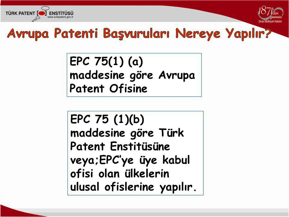 Avrupa Patenti Başvuruları Nereye Yapılır