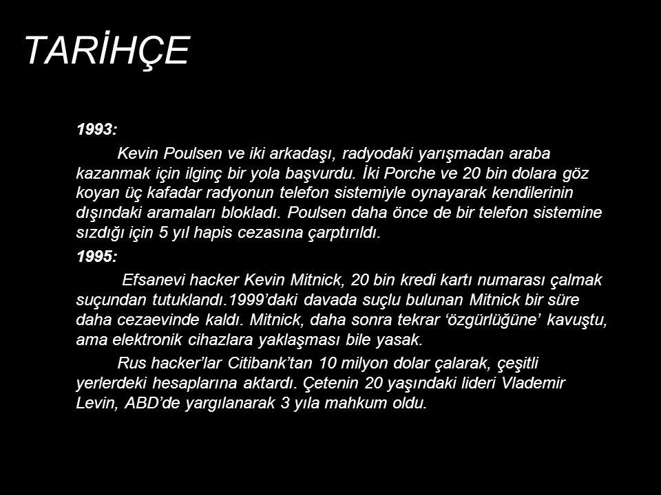 TARİHÇE 1993: