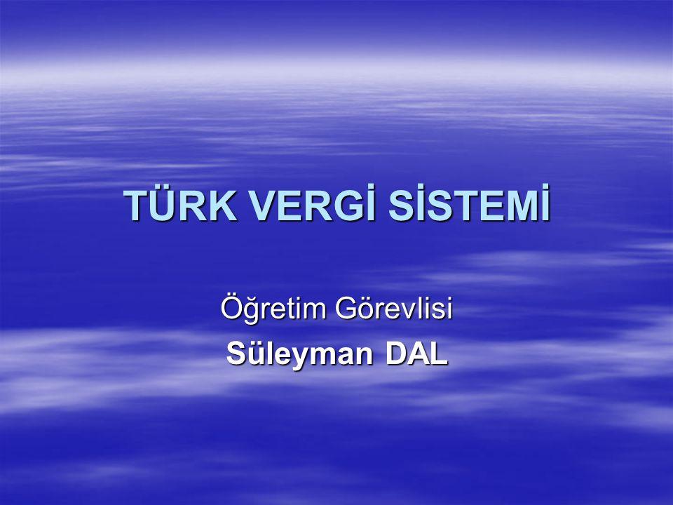 Öğretim Görevlisi Süleyman DAL