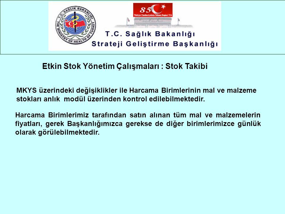 Etkin Stok Yönetim Çalışmaları : Stok Takibi