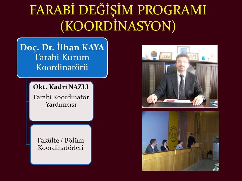 FARABİ DEĞİŞİM PROGRAMI (KOORDİNASYON)