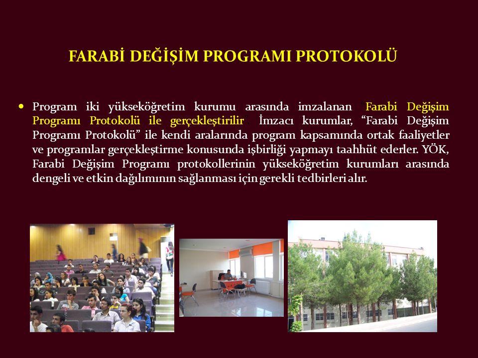 FARABİ DEĞİŞİM PROGRAMI PROTOKOLÜ