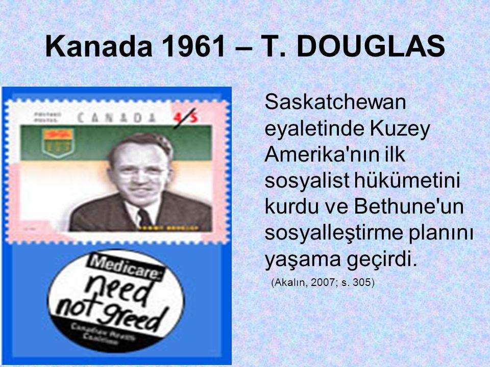 Kanada 1961 – T. DOUGLAS
