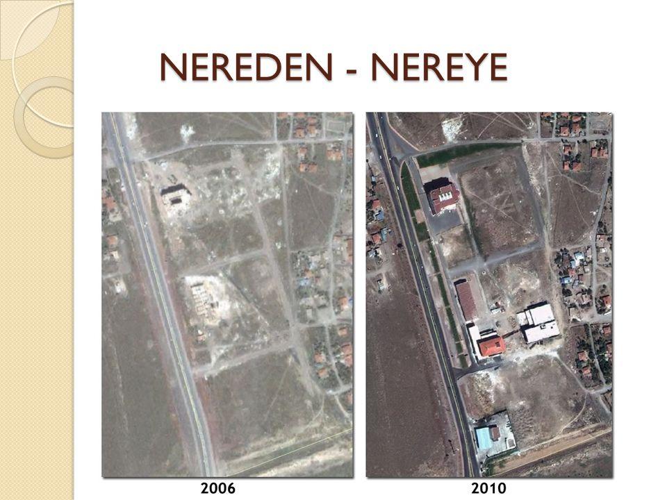 NEREDEN - NEREYE