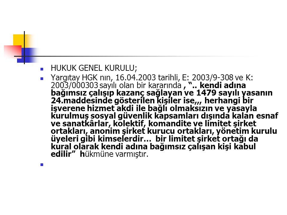 HUKUK GENEL KURULU;