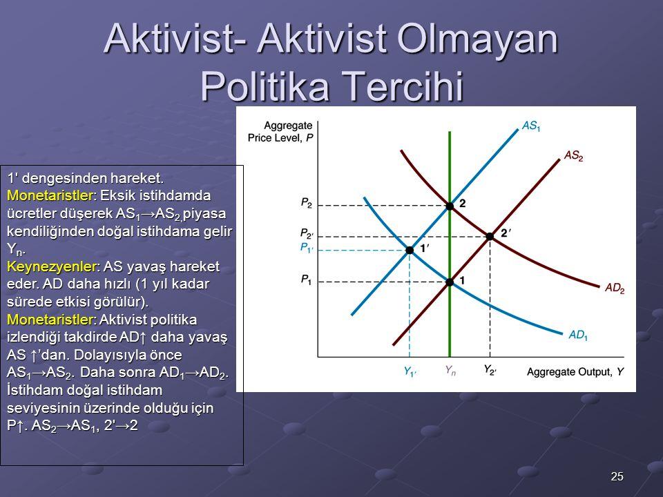 Aktivist- Aktivist Olmayan Politika Tercihi